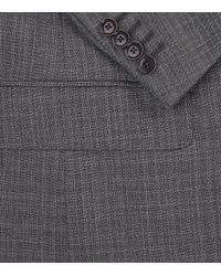 Pal Zileri - Gray Mini Check Travel Suit for Men - Lyst
