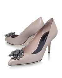Dolce & Gabbana - Multicolor Bellucci Leather Pumps 75 - Lyst