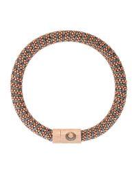Carolina Bucci | Pink Gold-plated Woven Bracelet | Lyst