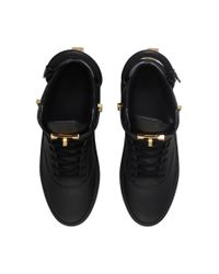 Buscemi | Black Handle Mid-top Sneakers for Men | Lyst