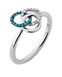 Links of London | Metallic Treasured Diamond Ring | Lyst