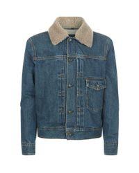 Rag & Bone | Blue Denim Jacket | Lyst