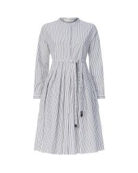 Max Mara - Multicolor Poplin Smock Dress - Lyst