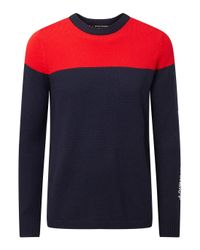 Perfect Moment - Blue Team Rider Merino Wool Jumper for Men - Lyst