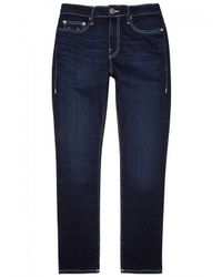 True Religion - Blue Jack Runner Slim-leg Jeans for Men - Lyst