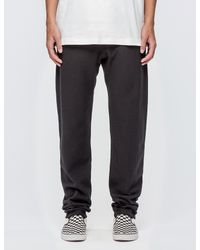 845399c8 Champion Small Logo Sweatpants in Black for Men - Lyst