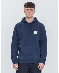 10a35489dc9 Lyst - Undefeated Chest Strike Hoodie in Blue for Men