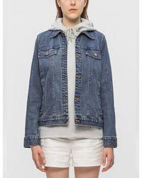 A.P.C. | Blue Brandy Denim Jacket | Lyst