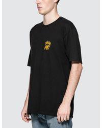 Stussy - Black Stock Lion T-shirt for Men - Lyst