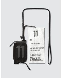 Boris Bidjan Saberi 11 - Black 11 Logo Zipper Wallet - Lyst