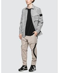 Stone Island Shadow Project Gray Jacket for men