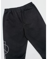 Marcelo Burlon - Black Talca Pants for Men - Lyst