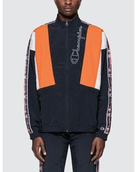 a369d6e4c028 Lyst - Champion Track Jacket in Blue for Men