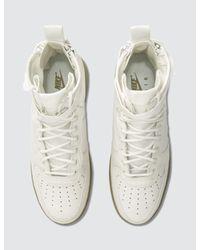 Nike - White W Sf Air Force 1 Mid - Lyst
