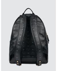 MCM - Black Stark Backpack Medium - Lyst