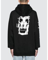 RIPNDIP Black Nerm Skull Pullover Sweater for men