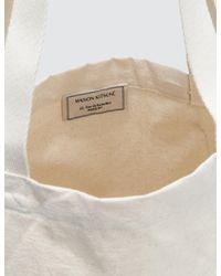 Maison Kitsuné - Natural Tote Bag Super - Lyst