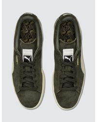 PUMA Green Suede Classic + Trainers for men