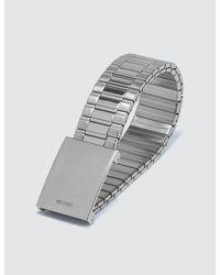Helmut Lang - Metallic Faceless Watch - Lyst
