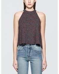 Obey | Black Sweet Jane Top | Lyst