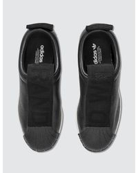 Adidas Originals - Black Superstar New Fsh W - Lyst