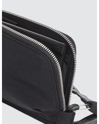 Boris Bidjan Saberi 11 - Black Diagonal Zipper Wallet - Lyst