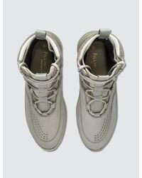 Filling Pieces - Green Mid Altitude Heel Cap Tech Sneaker for Men - Lyst