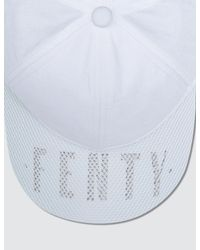 PUMA - White Perforated Cap - Lyst