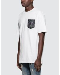 The Quiet Life - White Wild Wood Pocket S/s T-shirt for Men - Lyst