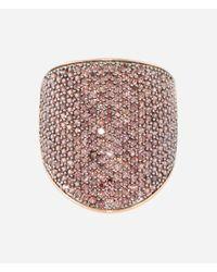 Henri Bendel | Metallic Luxe Elements Joy Pave Ring | Lyst