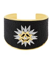 Henri Bendel - Black Military Cuff - Lyst