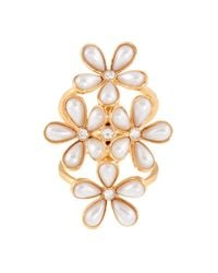 Henri Bendel | Metallic Duchess Pearl Ring | Lyst