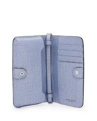 Henri Bendel - Blue West 57th Xl Smartphone Case Crossbody - Lyst