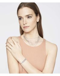 Henri Bendel | Metallic Luxe Bali Fine Lines Necklace | Lyst
