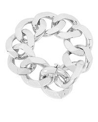 Henri Bendel - Metallic Chain Link Bracelet & Scarf Holder - Lyst
