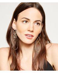 Henri Bendel | Metallic Luxe Claremont Chandelier Earrings | Lyst