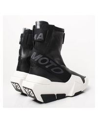 Y-3 | Mira Sneaker Boots Black for Men | Lyst