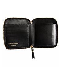 Comme des Garçons - Sa2100 Arecalf Leather Coin Wallet Black - Lyst
