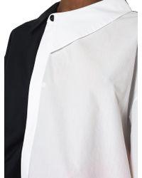 Awake - Multicolor Asymmetric Double Shirt - Lyst