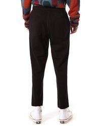 Issey Miyake - Black Drawstring Pant for Men - Lyst