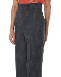 Toga - Multicolor Pinstriped 'tropical Wool' Pant - Lyst
