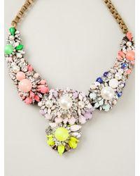 Shourouk - Multicolor Apolonia Necklace - Lyst
