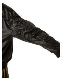 Juun.J | Black Oversized Bomber Jacket for Men | Lyst