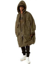 Juun.J - Green Deconstructed Parachute Jacket for Men - Lyst