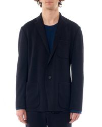 Issey Miyake | Blue Relaxed Blazer for Men | Lyst