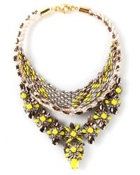 Shourouk | Yellow Princess Necklace | Lyst