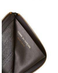 Comme des Garçons - Multicolor Trimmed Leather Wallet - Lyst