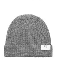 Stampd | Gray Knit Beanie for Men | Lyst