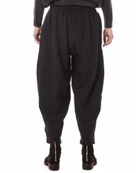 Toogood - Black The Acrobat Wool/linen Trousers for Men - Lyst