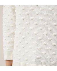 Hobbs - White Carmen Sweater - Lyst